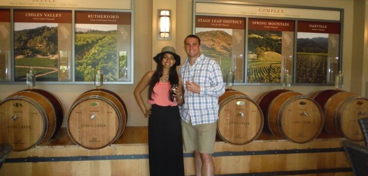napa tour wanderlust for two